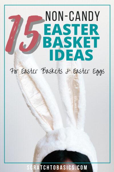 15 non candy easter basket ideas