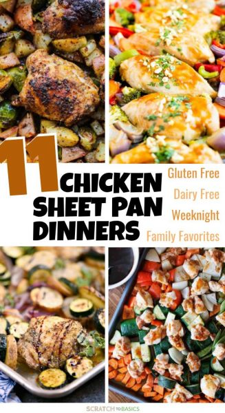 11 chicken sheet pan dinners that are gluten free and dairy free