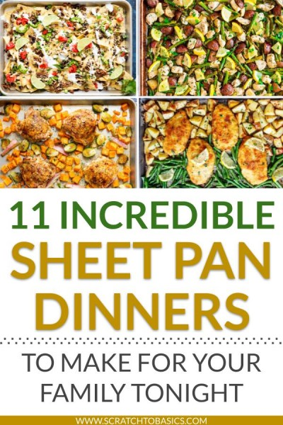 11 incredible sheet pan dinners