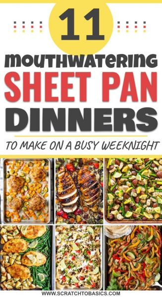 11 mouthwatering sheet pan dinners