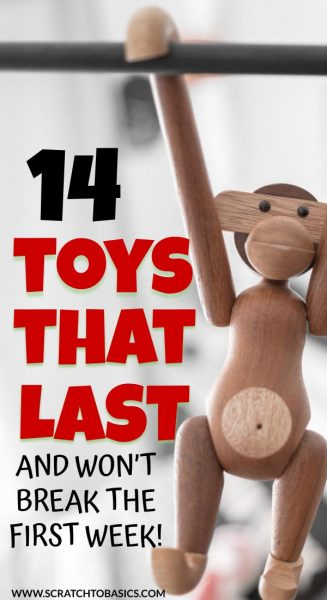 14 Christmas gifts for kids that will last.