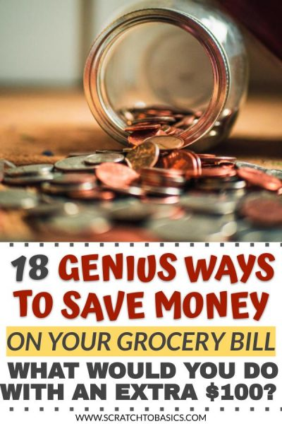 18 genius ways to save money on your grocery bill