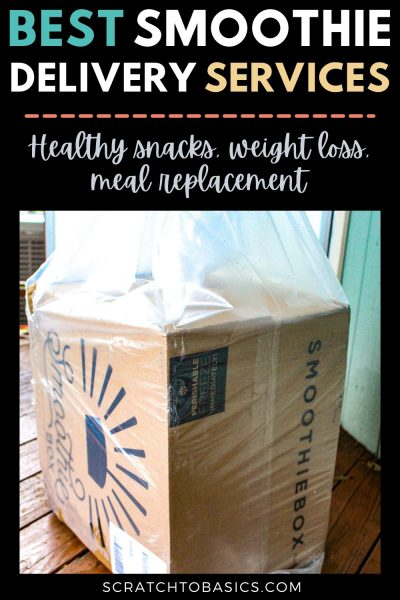 Best smoothie delivery services - healthy snacks, weight loss, meal replacement.