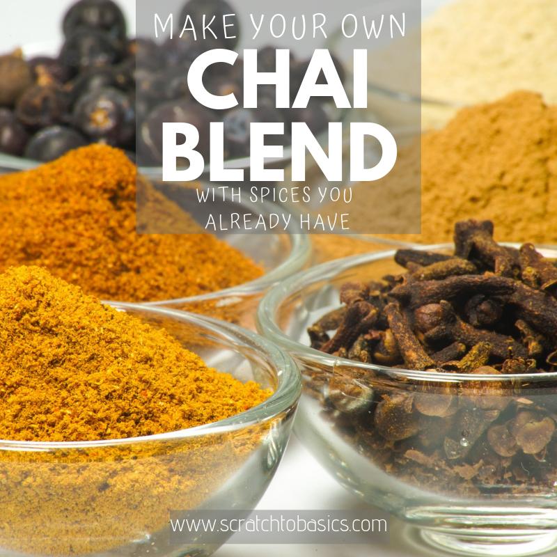Make Your Own Chai Blend
