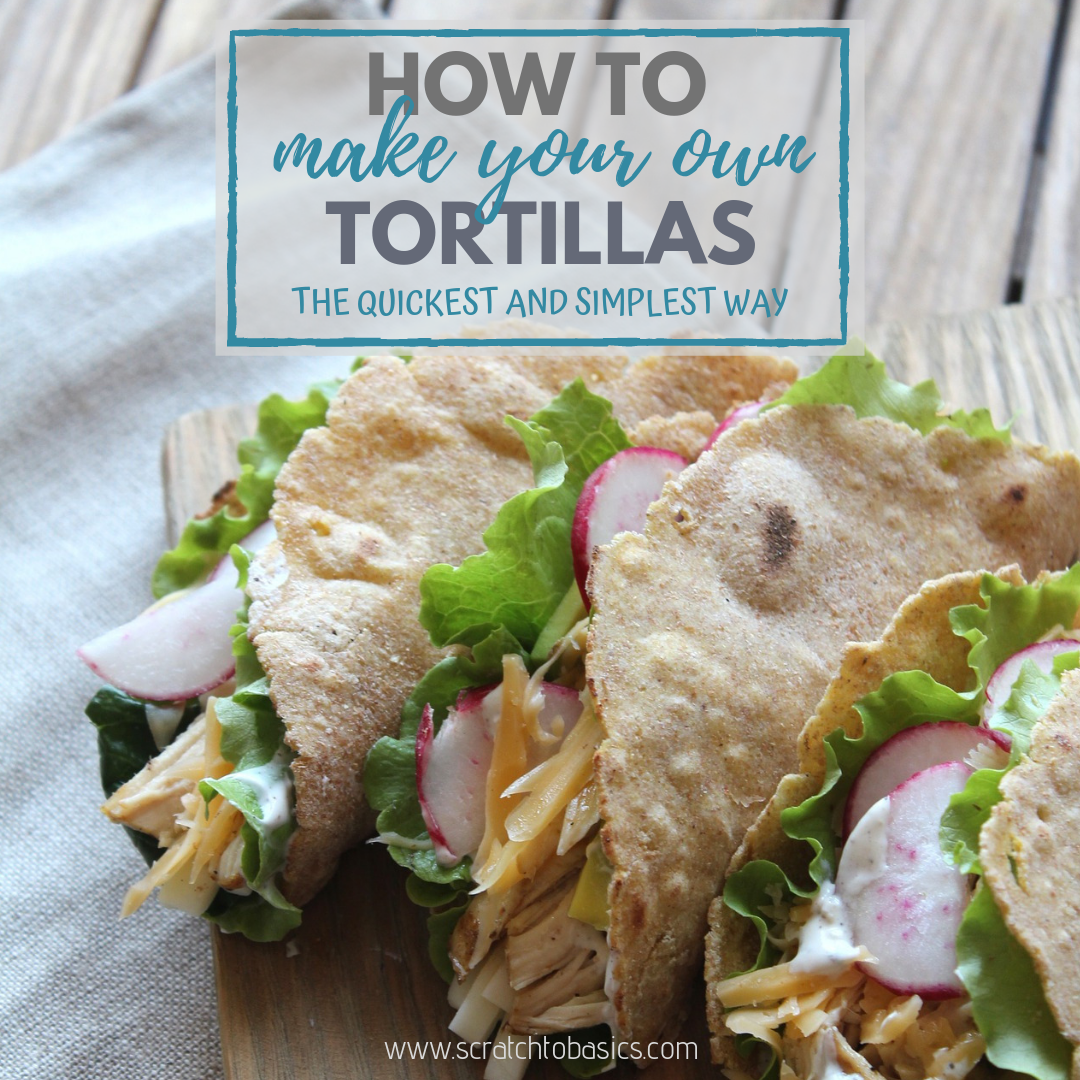 Say Hello To The Tortilla Press (with Gluten Free, Flour, and Corn Tortilla Recipes)