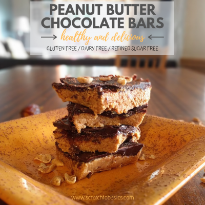 Peanut Butter and Chocolate Bars