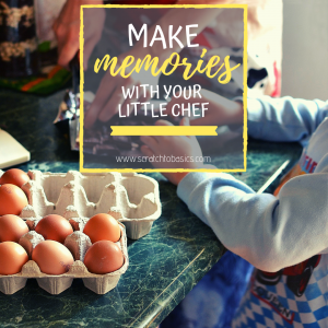 Here's everything you need to make memories in the kitchen with your little chef.