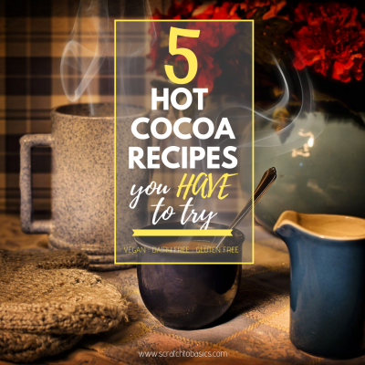 5 Recipes for Vegan Hot Chocolate