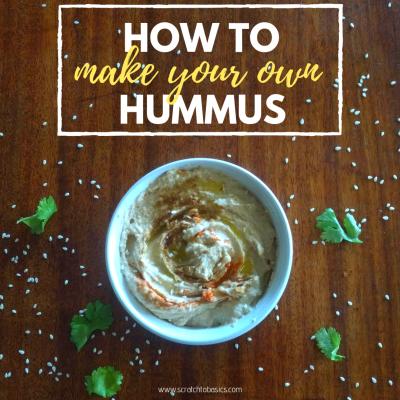 How to Make Hummus at Home