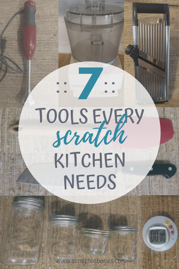 Seven essential time saving tools that every scratch kitchen should have. These are all worth the shelf space.