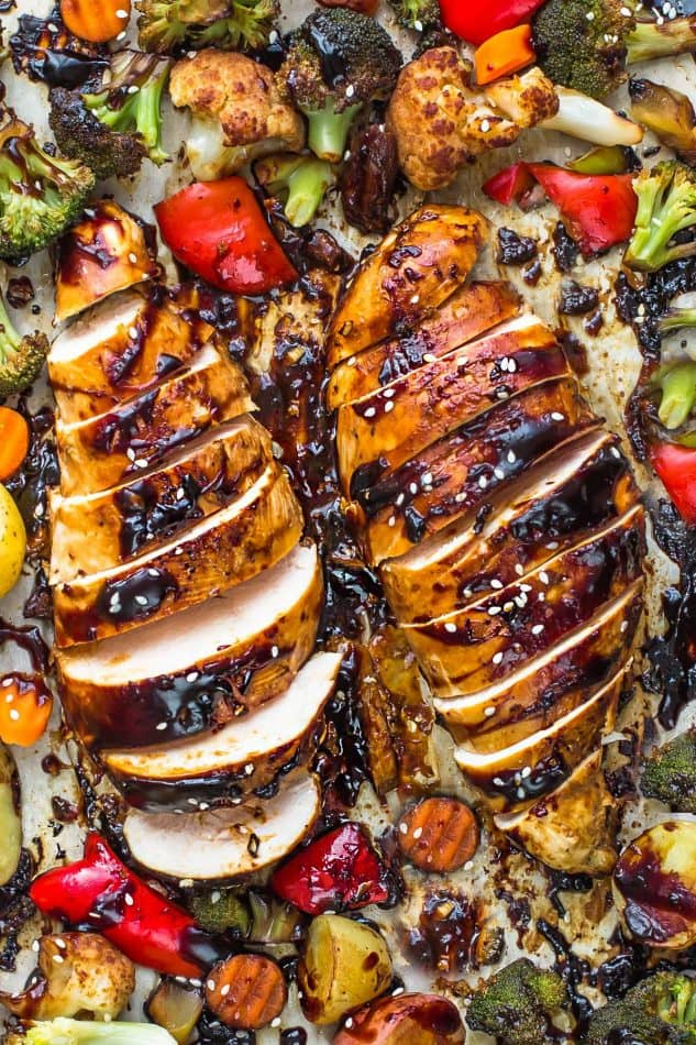 Sheet Pan Hoisin Chicken by Life Made Sweeter