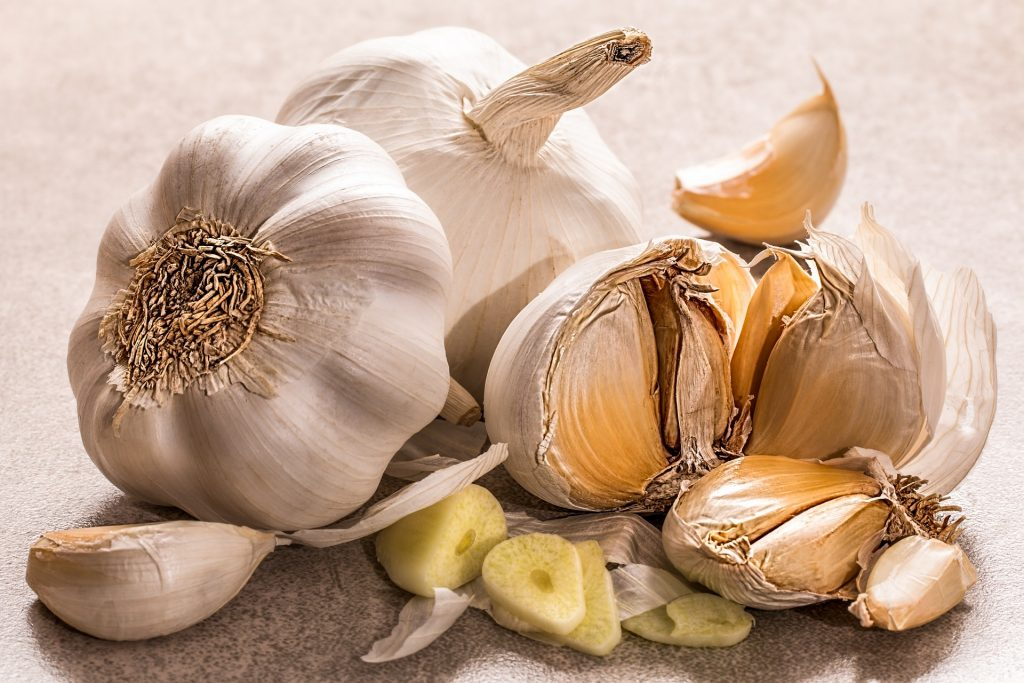 Oven roasted garlic is a tasty addition to your pantry. Use it on veggies, meat, in dips and sauces to add a boost of flavor.