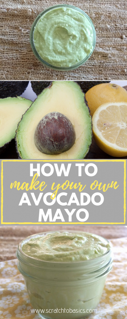 Five minute avocado mayo that's gluten free, dairy free, egg free and vegan. Make your own!