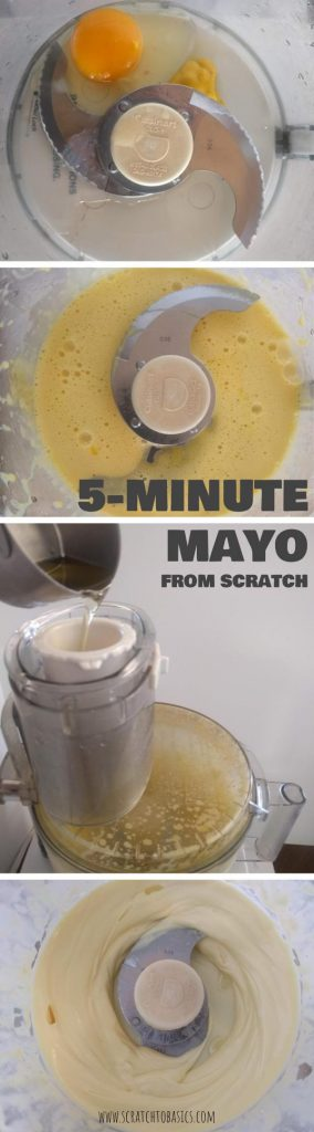 Making mayonnaise at home is quick and easy. And the flavor is way better than store bought mayo. This recipe is easily customizable to your liking. Enjoy! #pantrystaples #mayo #condiments #diy #cookingtips