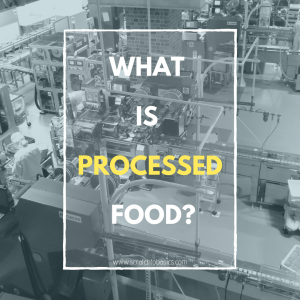 What is processed food?
