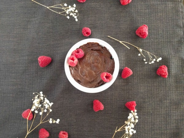 Homemade chocolate pudding is easy to make with three ingredients (including avocados). A healthy unprocessed treat!