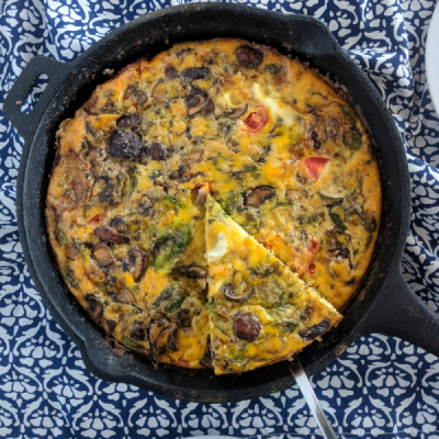 How to Make a Frittata in Your Cast Iron