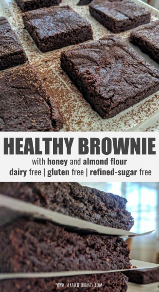 "Brownies on a plate and brownies stacked up. ""Healthy Brownie"""