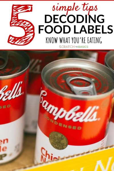 5 simple tips to decode food labels