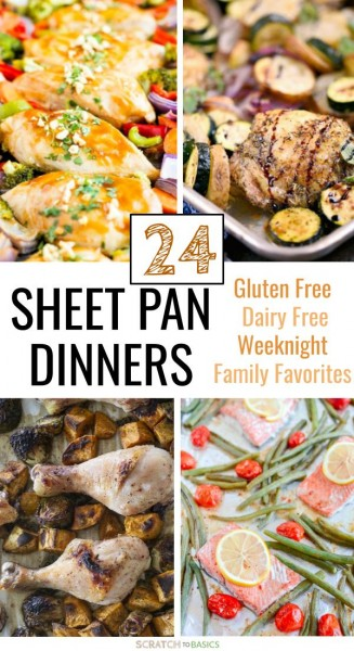 24 sheet pan dinners to make tonight!