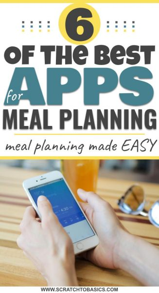 6 of the best apps for meal planning