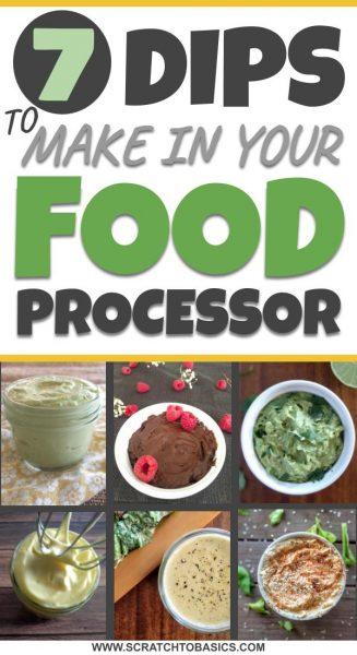 food processor dips