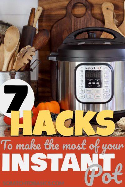 instant pot hacks