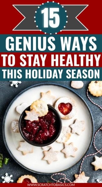 stay healthy during holidays