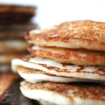 Spongy Paleo Flatbread [Gluten free, Dairy free, AIP, Whole 30]