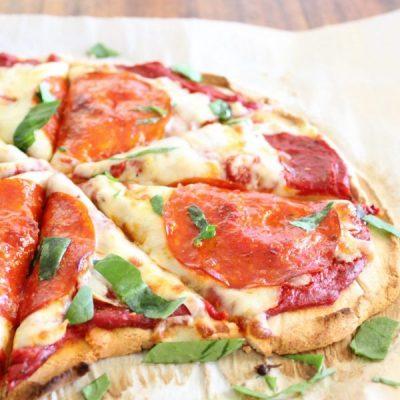 5 Ingredient Coconut Flour Pizza Crust [Paleo   Gluten & Grain Free]