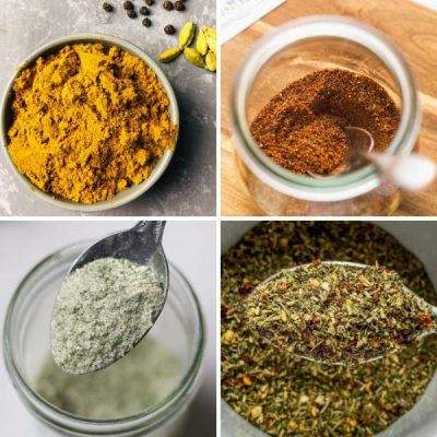 20 Simple Homemade Spice Mixes To Make From Your Spice Cupboard Today