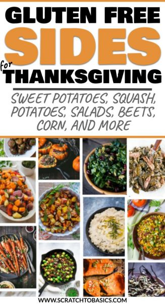 Thanksgiving sides to make this year - gluten free