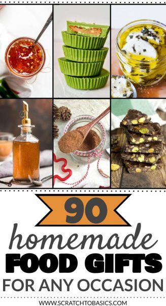 90 Homemade Food Gift Ideas You'll Want