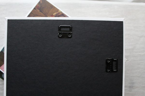 hanging hooks on back of Mixbook canvas print