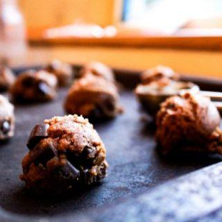Coconut Flour Ginger Cookies