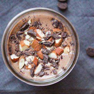 Almond Butter Chocolate Smoothie