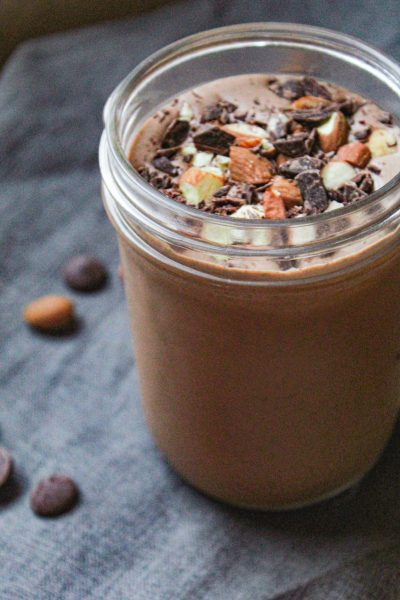cacao smoothie from SmoothieBox