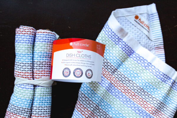 Dish cloths from iHerb - out of package