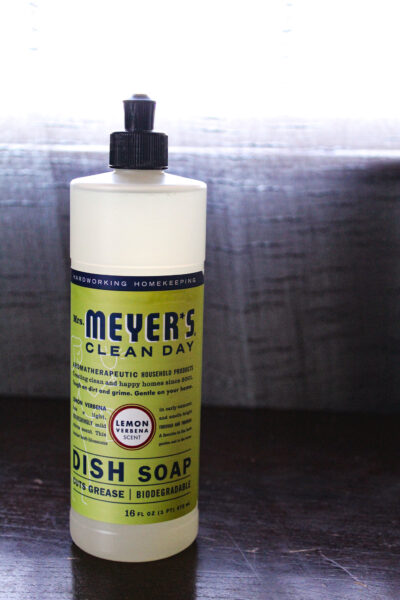 Mrs Meyers dish soap from iHerb