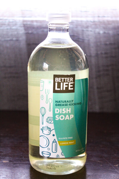 Better Life dish soap from iHerb