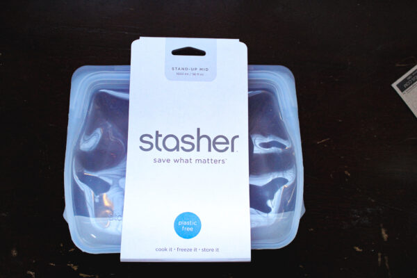 Stasher stand up bag in package (from iHerb)