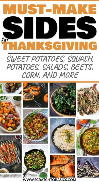 Thanksgiving sides to make this year