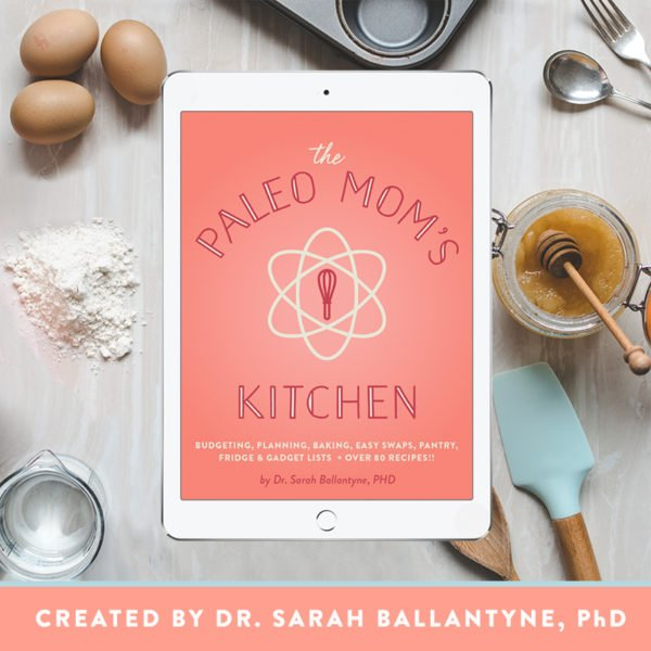 The Paleo Mom's Kitchen e-book is full of tips and recipes perfect for Paleo beginners.