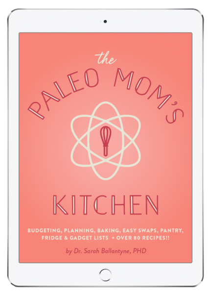The Paleo Mom's Kitchen E-book is full of helpful Paleo basics and recipes