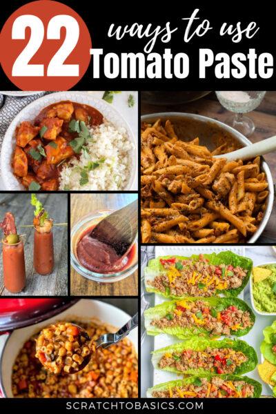22 tomato paste recipes to make today