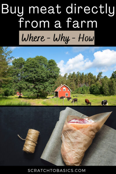 How to buy meat directly from a farm
