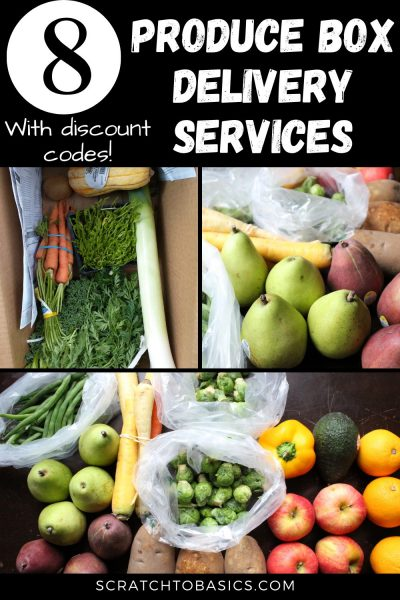Produce Box Delivery Services