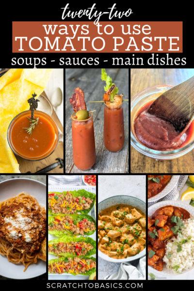 22 tomato paste recipes