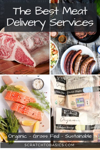 Best Meat Delivery Services - photo collage of meat