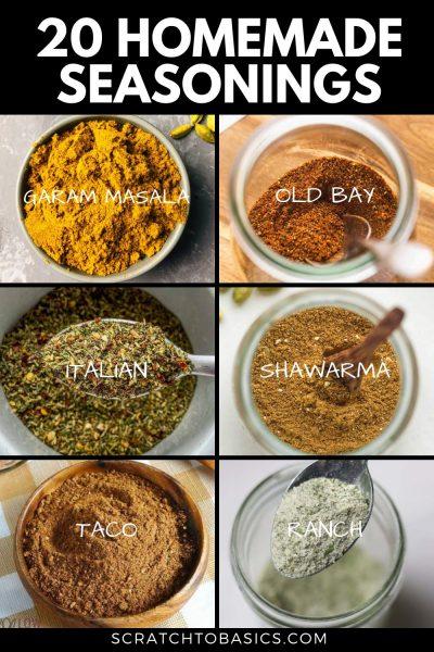 homemade seasonings to make at home